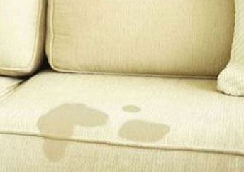 oil stains on couch